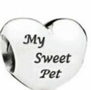 "Authentic Pandora ""My Sweet Pet"" charm"